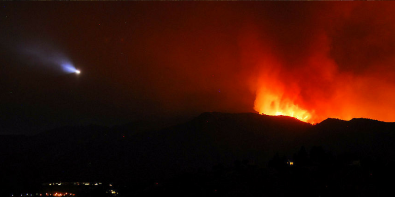 Wildfire-in-California