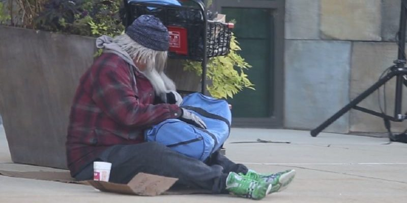 James MacDonald disguised as a homeless man, camped outside of Harvest Bible Chapel campuses before Sunday services to see how congregants would react.