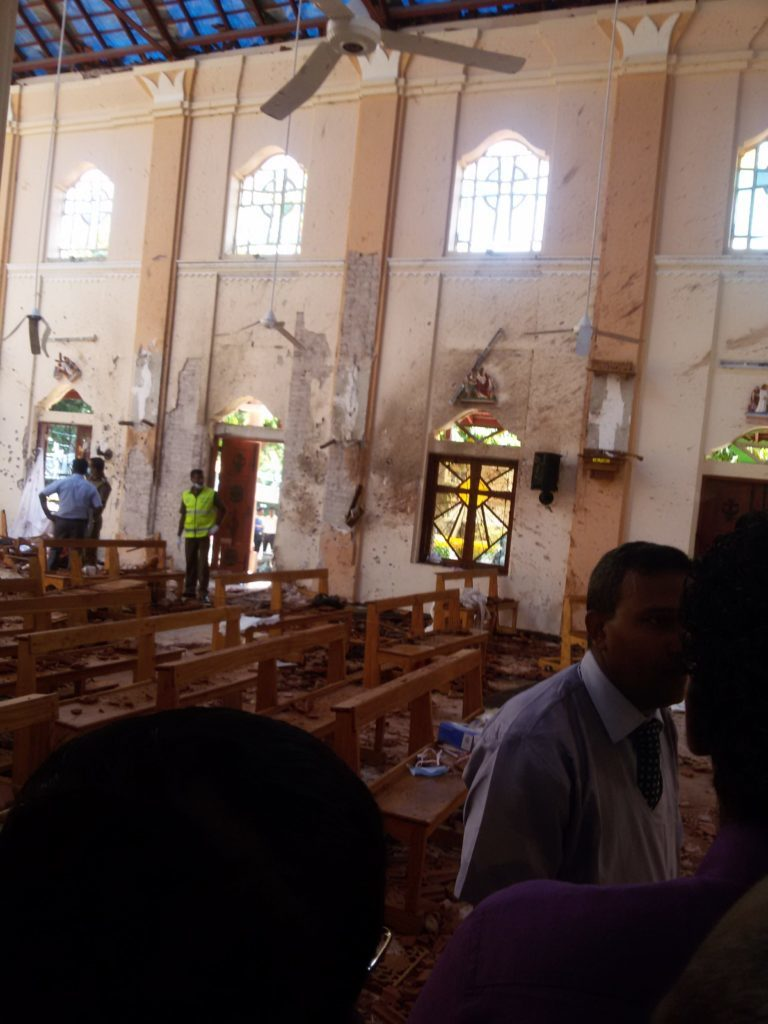 Terrorists' serial church bombings in Sri Lanka on Easter Sunday claimed the lives of five family members of a GFA-supported Bridge of Hope social worker. GFA Founder K.P. Yohannan called on believers around the world to pray for the families, church leaders and believers amid attacks intended to intimidate and sow fear among those in the country.