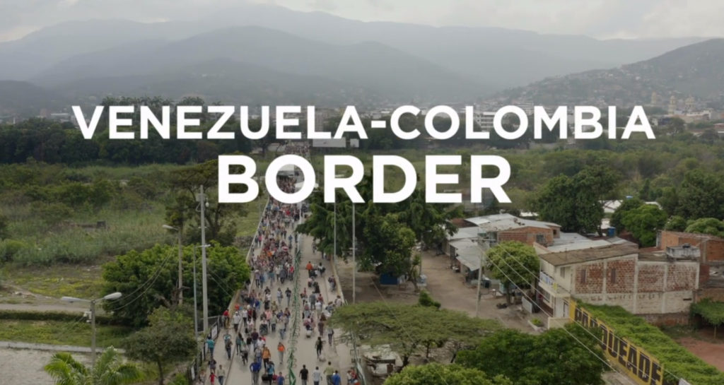 Hundreds and even thousands of Venezuelan migrants cross into Colombia each day, leaving behind chaos and deprivation.