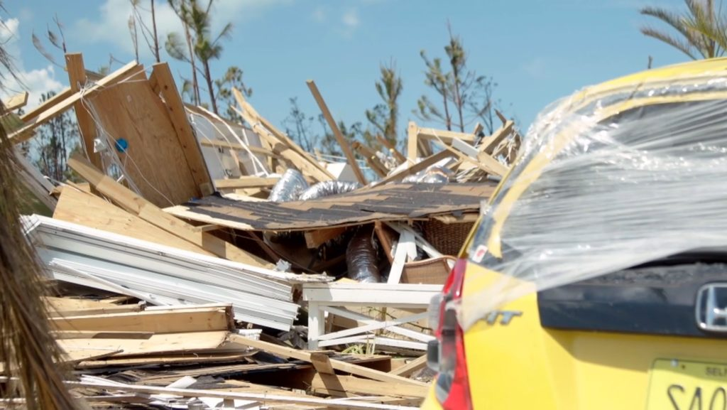 Samaritan's Purse has established a base of operations in Marsh Harbour—working to bring emergency shelter material, clean water, and critical supplies to families who lost everything.