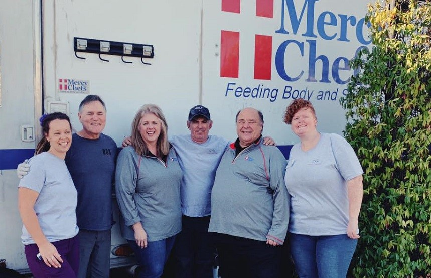 The faith-based, not-for-profit mobile kitchen food service, Mercy Chefs, has served more than 2,000,000 meals in disaster recovery areas across the US.