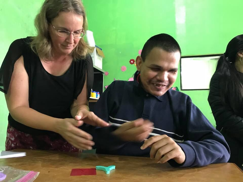 Wycliffe SUN NT is the only known attempt to make Scripture accessible to the deaf who don't know sign language or to those who are both deaf and blind.