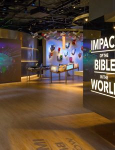 In response to the COVID 19 pandemic and racial equality in America, Museum of the Bible has launched a new museum theme Bible and Healing.