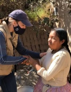 Samaritan's Purse continues to help construct places of worship for believers in remote areas of Bolivia even in the midst of COVID 19 lockdown.
