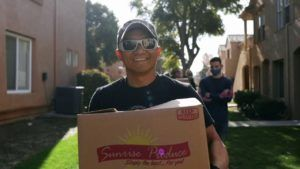 """The Faith Based Community for Farmers to Families has distributed over 12 million food boxes to families living in the """"Last Mile of Need."""""""