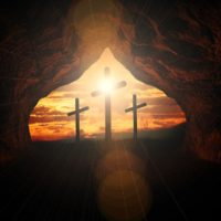 The actual and real Good News of the Gospel is Jesus loves us, that He died for our sins, and that He has risen from the dead!