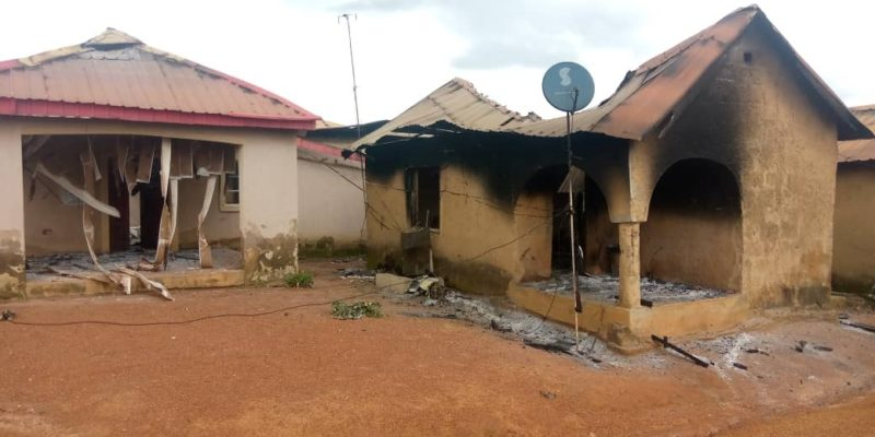 Sunni Muslim Fulani Herdsmen invaded the Christian orphanage in Miango, Nigeria and burned every building.