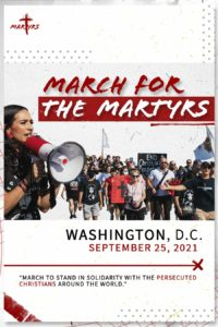 As Christians in Afghanistan struggle for their lives, US Christians to march, pray in Washington, DC on September 25, 2021