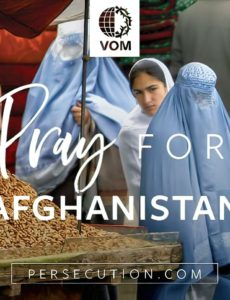 Humaritarian worker in Afghanistan John Weaver talks about the opposition Christians face in Afghanistan, now that the Taliban has taken over